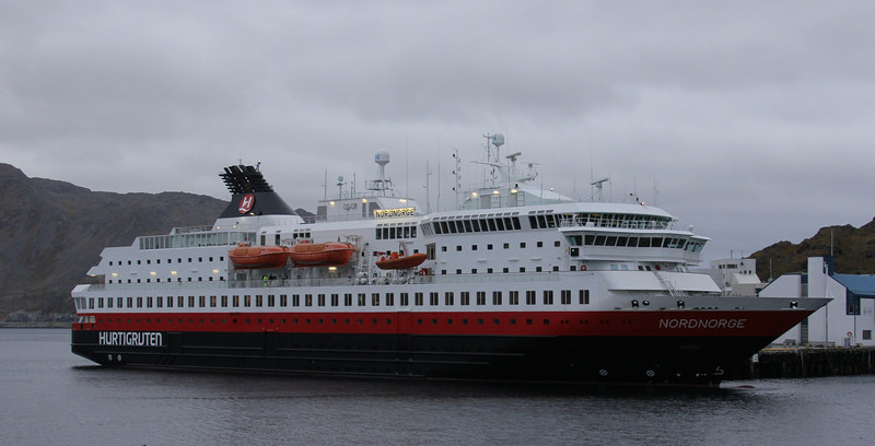 Our ship, the Nordnorge