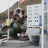 Honningsvag, Norway - Trolls are popular in Norway