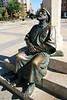 Leon-a pilgrim on his way to Santiago de Compostela