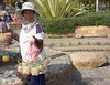 N  THAILAND  This woman is selling eggs that were cooked in the hot springs