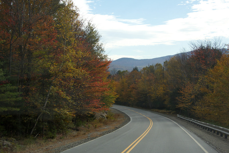 Route 20 S in Maine