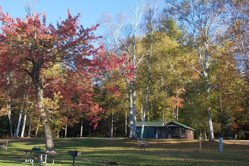 Umbagog State Park campground