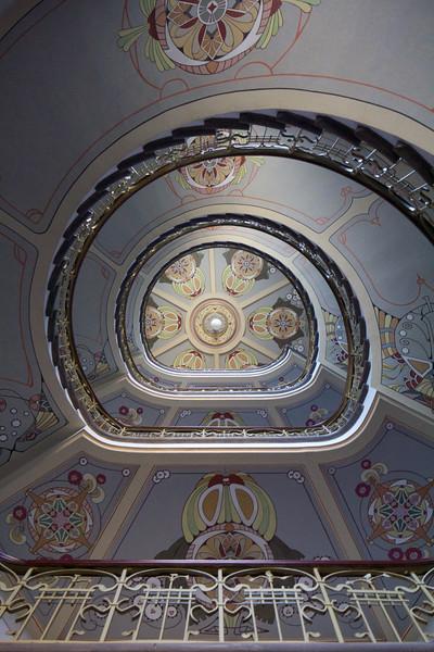 Riga - Interior of the Art Nouveau Museum.