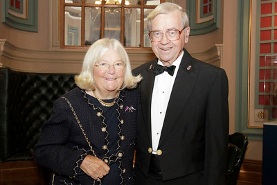 NMHS_2019_045 Honorary Dinner Chairman George W  Carmany III and Judy Carmany