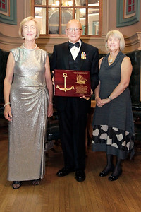 NMHS_2019_041 Award Recipient Jean Wort with Admiral Robert J  Papp and Joanne O'Neil