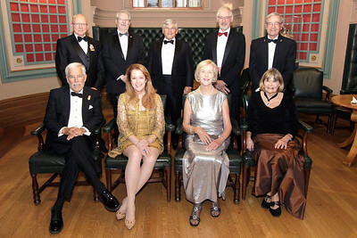 NMHS_2019_021 Award Recipients Matt Brooks, Pam Rorke Levy and Jean Wort with B  Green, Adm Papp, R  Oswald, R  du Moulin, C  Culver and G  Carmany