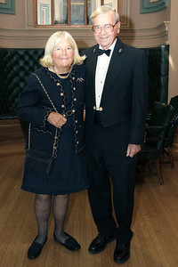 NMHS_2019_044 Honorary Dinner Chairman George W  Carmany III and Judy Carmany