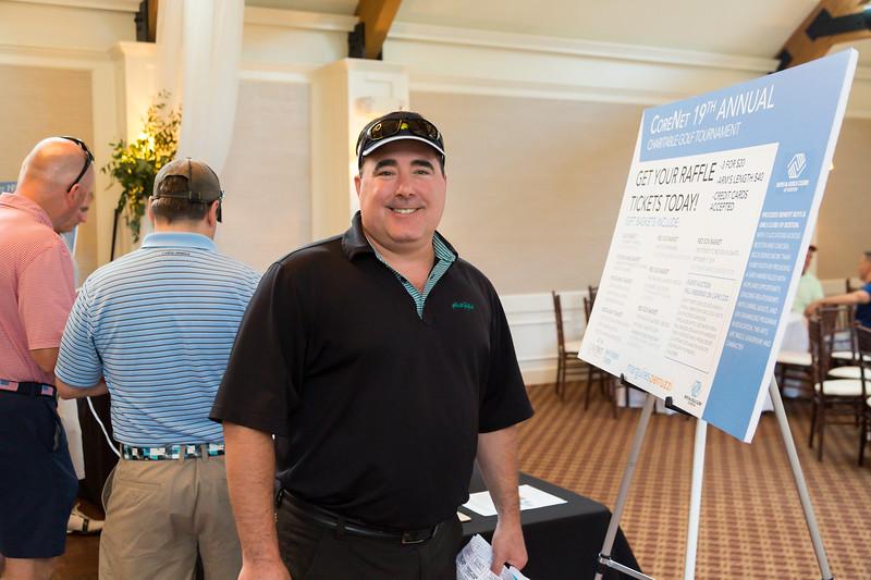 July 17, 2019. Plymouth, MA.<br /> CoreNet New England Charitable Golf Tournament at Pinehills Golf Club.