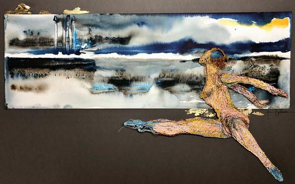 Against The  Horizon by  Jenni Bateman