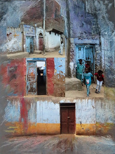 Doors-Egyptian Village by Diane Olsson  Juror Award from Carole Frye