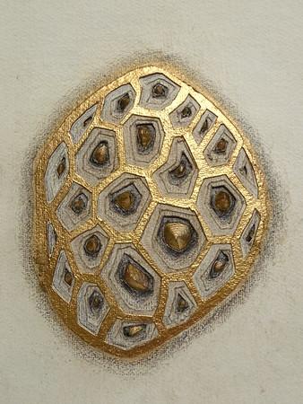 Gilded Pollen Form