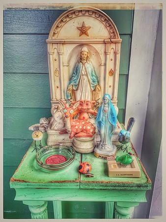 Madonna Porch Shrine