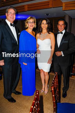 John Richard, Lynne Richard, Maria Carvalho, and Alberto Carvalho