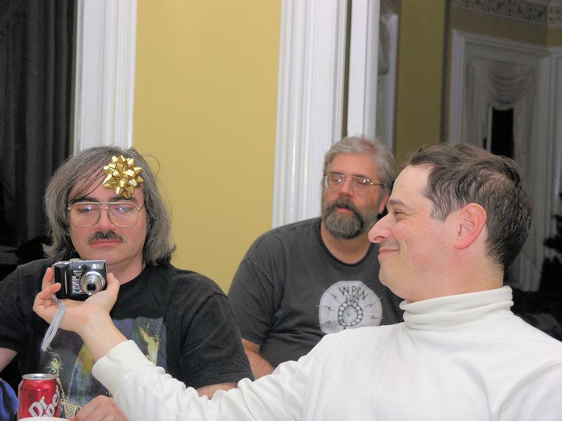 Doug Morgenstern, Pete Tischer, and Ben Goldstein