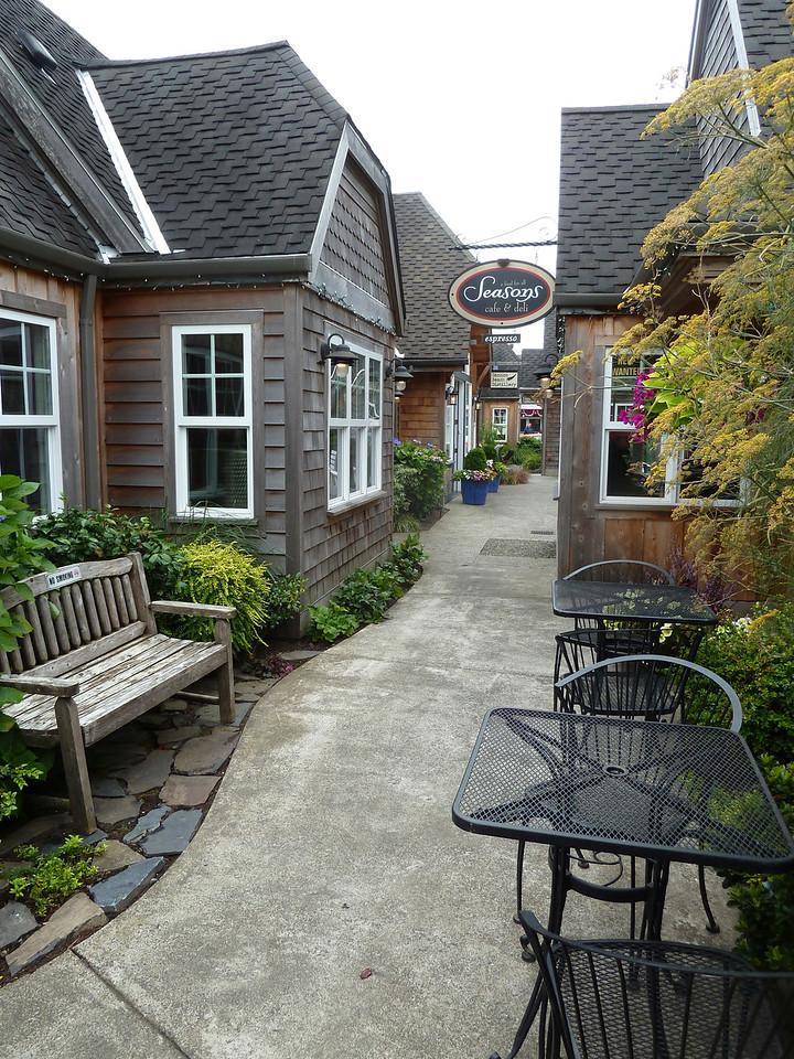 Very quaint Cannon Beach, Oregon.