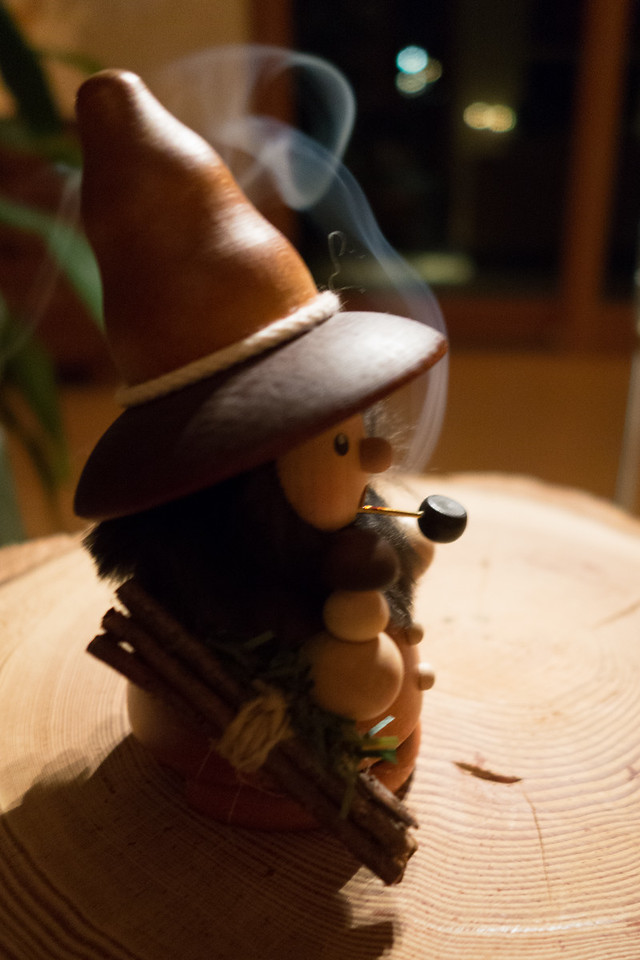 Our little smoker dwarf!