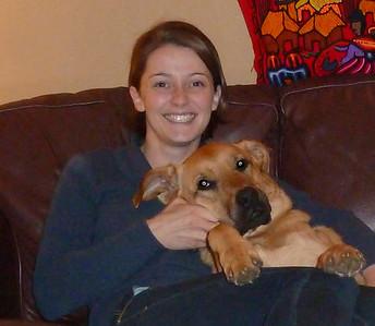 Miriam with her best friend!!
