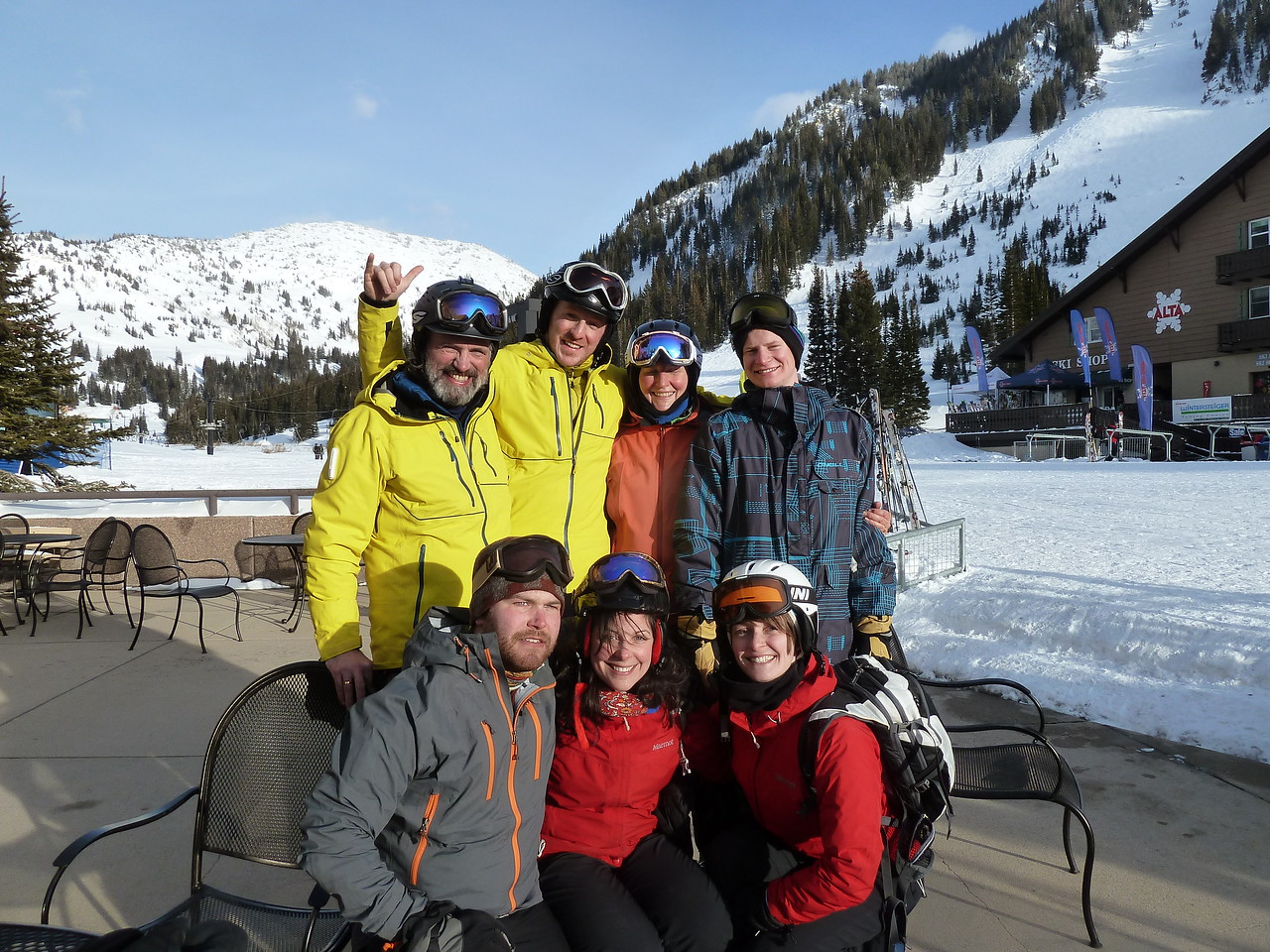 Ski Week 2014 with Andrew, Bethany, Miriam, Rob, Niel, Annette and Paul