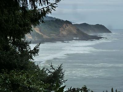 Travelling back to Utah from British Columbia, Canada, along the fabulous Oregon coast.