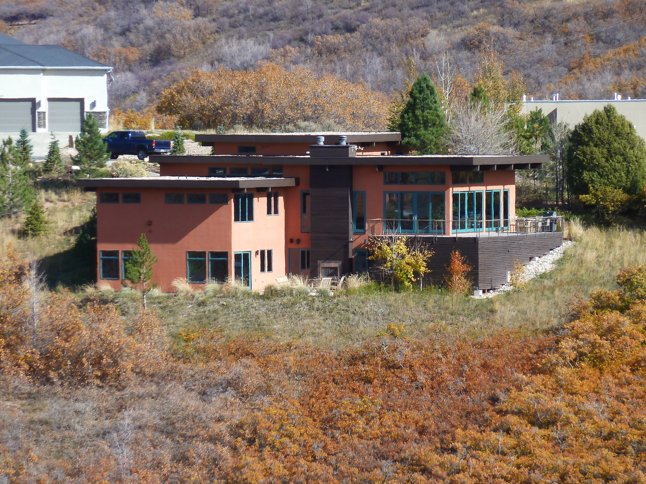 Our house outside of Salt Lake City in Emigration Canyon!