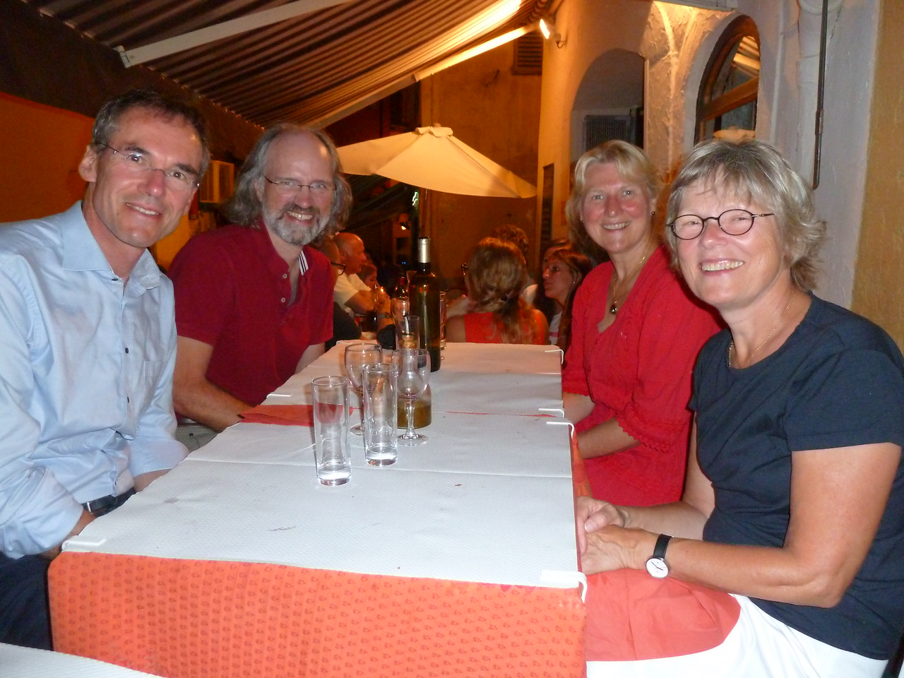 Sept 9: Dinner in Nice with Olaf and Meike (from Karlsruhe, Germany).