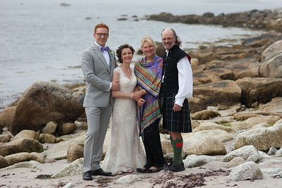 Aug 4th, 2015: Highlight of the Year!! Annette's son Niel marries his high-school sweetheart Miriam in Nova Scotia after a 12-year courtship! Best Love Fest EVER!!