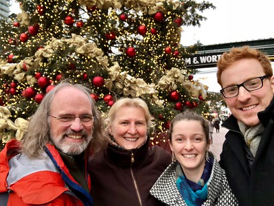 Christmas Eve at the Distileries and the Christmas Market