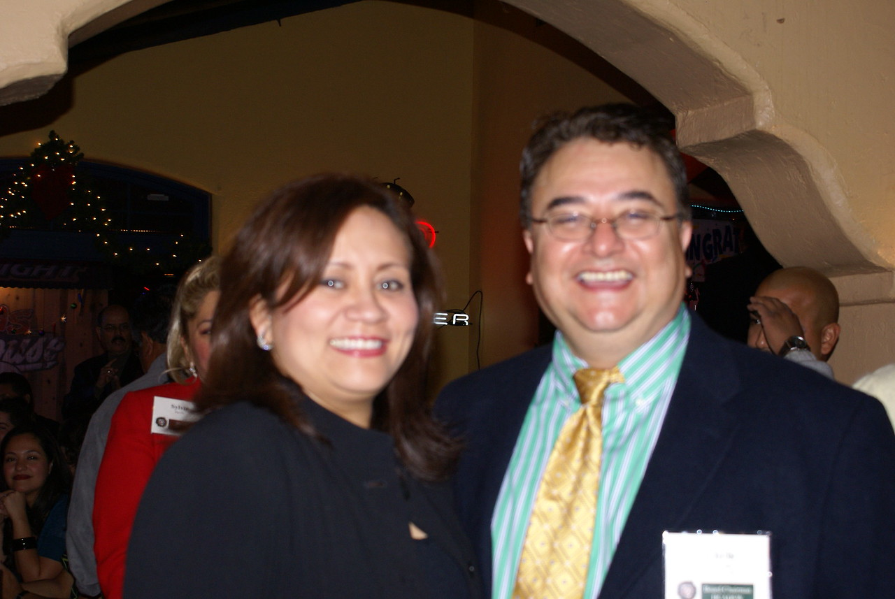 CiCi Rojas, GDHCC President & Chris Escobedo, HCADFW Board Chairman (Phillips/May Corp)