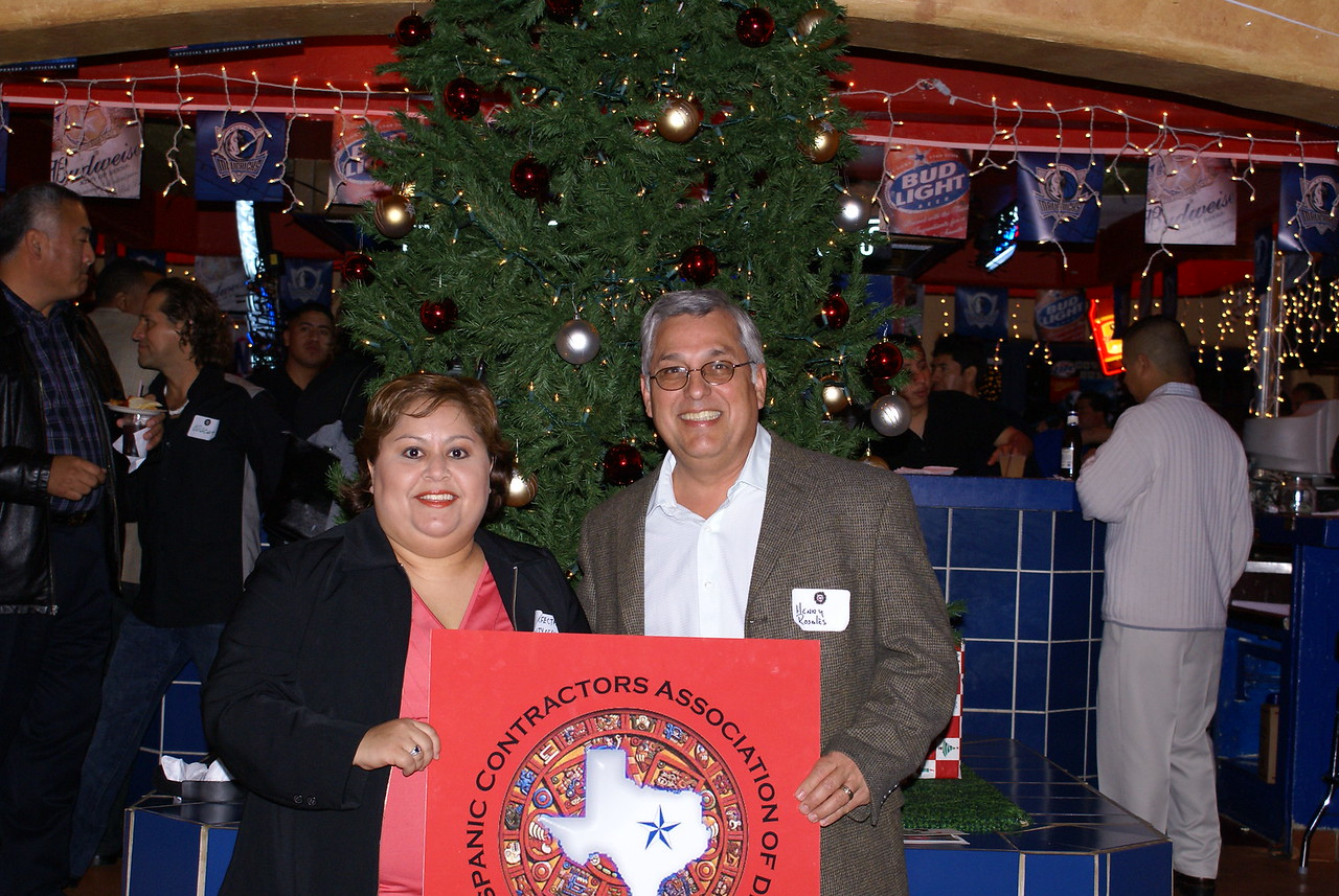 The City of Dallas Team and a HCADFW Agency Partner - Perfecta Gallegos & Henry Rosales