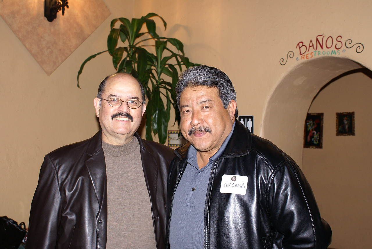 Hector Flores, Past LULAC National President, & Gil Cerda, Latino Peace Office Association