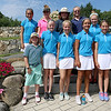 The annual Lowell City Junior Golf Tournament took place on Monday at Long Meadow Golf Club. Eleven girls competed in the tournament. From left in the front row is Madison Smith, 9, from Westford, Grace Carroll, 13, from Westford, Danielle Shyjan, 10, from Westford, Grace Hammond, 12, from Andover and Caroline Hanson, 12, from Lowell. In the back from left is hannah kennedy, 12, from Westford, Olivia Sheehan, 15, from Pentucket, Molly Smith, 12, from Westford, Morgan Smith, 13, from Westford, and Moira Thompson, 13, from Groton. Missing from picture is Fiona Johnson, 13, from Tyngsboro. SUN/JOHN LOVE
