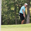 The annual Lowell City Junior Golf Tournament took place on Monday at Long Meadow Golf Club. Trevor Green makes a shot onto the green during the tournament. SUN/JOHN LOVE