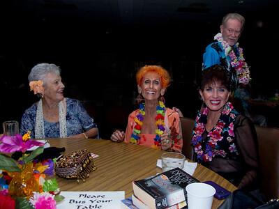 Betty, Duckie, Sandra & Diamond Head (lurking) Photo by Bob Burns
