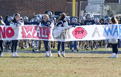 Squan Manasquan High School v/s Wall High School's annual Thanksgiving day game in Manasquan, NJ on 11/22/18. [DANIELLA HEMINGHAUS | THE COAST STAR]