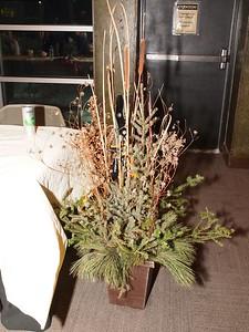 Stealth:  Fiskars lopper lurking midst spruce growth...
