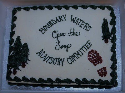 BWAC Cake (Thank you Siobhan for making the extra trip!)