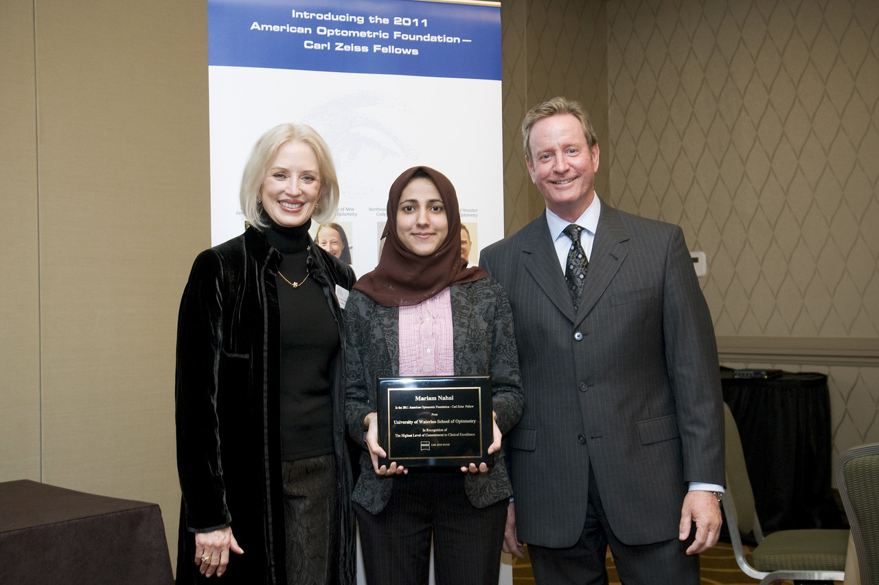 AOF - Carl Zeiss Fellow reception, Amos, Mariam Nahal, Donahoe