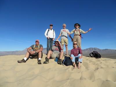 Kathleen:Mojave:atop the Dunes