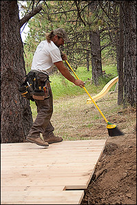 Jeff Aiken, sweeping