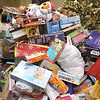 State Rep. Jim Arciero held his annual Sun Santa/Toys for Tots fundraiser at the Franco American Club in Westford on Thursday night, December 7, 2017. The pile just kept getting higher for the Toys for Tots drive. SUN/JOHN LOVE