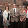 Montana's CU Professional of the Year Keven Mayer stands with the Richland FCU Contingent. Board Member Scott Dornfeld, Board Chair Beth Redlin, and RFCU staff members Nancy Verschoot and Laurie Pearson.
