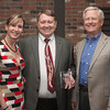 Here Carl poses with Tracie Kenyon and the President/CEO of Missoula FCU Gary Clark.