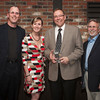 Montana's CU Professional of the Year Kevin Mayer takes a moment to pose with Tom Boos (MCUN Vice-Chair), Tracie Kenyon (MCUN President/CEO), and Larry Eisenhauer (Kansas Corporate Credit Union). Kevin serves on the KCCU Board of Directors.
