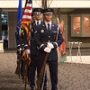 The Malmstrom Air Force Base Honor Guard presents the flags at the beginning of the Montana Credit Union League's 76th Annual Meeting.