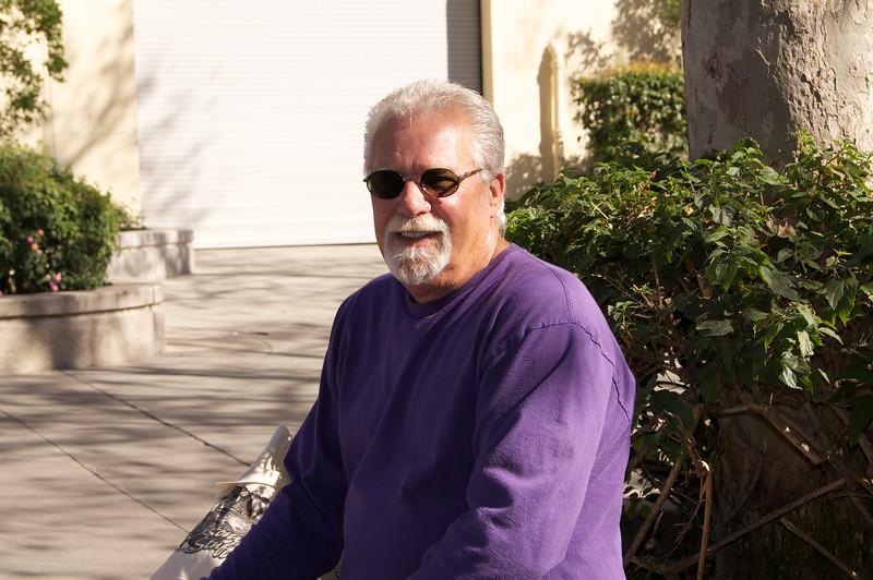 Ken at LA Roadster Show