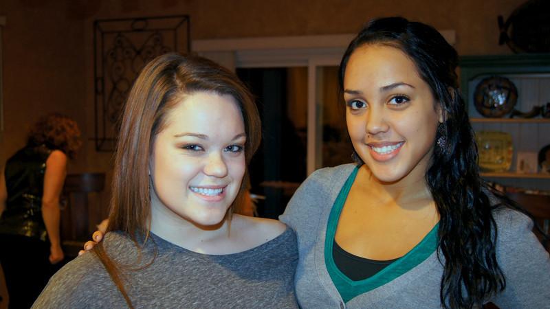 Hannah and Nicole