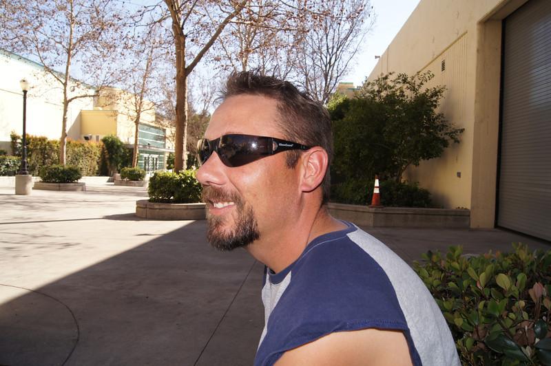 Brad at LA Roadster Show