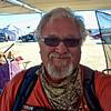 Keith in camp at Burning Man