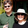 Patrick and Nancy at Wooldridge Creek Winery