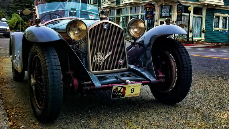 Old car in Ferndale, CA (iPhone photo)